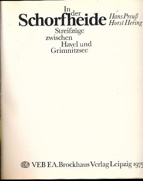 shop.ddrbuch.de DDR-Buch, Streifzüge zwischen Havel und Grimnitzsee, Bild-Text-Band mit Farb- und Schwarzweißfotografien auf Kunstdruckpapier, mit Beilagenheft in 4 Fremdsprachen, mit vielen Zeichnungen und Abbildungen