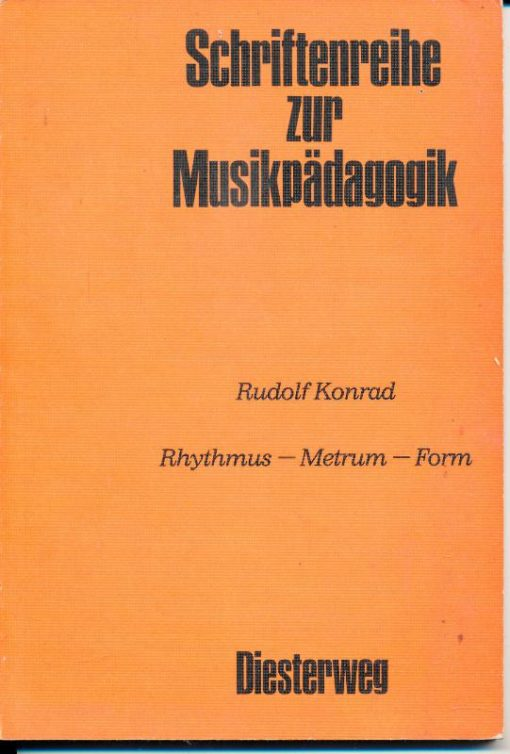 shop.ddrbuch.de Rhythmus – Metrum – Form