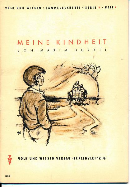 """shop.ddrbuch.de Volk und Wissen Sammelbücherei, Serie H: """"Aus guten Büchern"""", Heft 9, mit lebendigen schwarzen Zeichnungen von Kurt Zimmermann, mit Worterklärungen"""