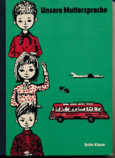shop.ddrbuch.de DDR-Lehrbuch, Übungsstoffe für den Deutschunterricht, mit schwarz-dunkelroten schönen Zeichnungen von Heinz Ebel, Inhalt: Sprachlehre, Lautlehre - Rechtschreibung