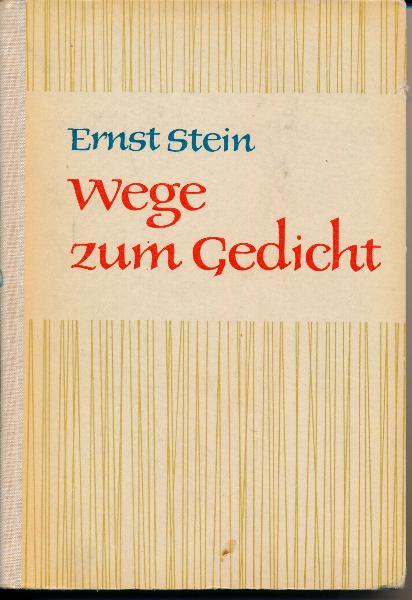 shop.ddrbuch.de DDR-Lehrerliteratur, Hilfe für den Deutschlehrer bei seiner Vorbereitung auf die unterrichtliche Erschließung lyrischer Gedichte, darüber hinaus ist sie aber all denen zugedacht, die sich um den Zugang zur Lyrik bemühen