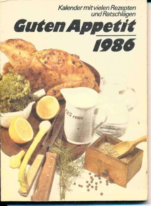 shop.ddrbuch.de Kalender mit vielen Rezepten und Ratschlägen