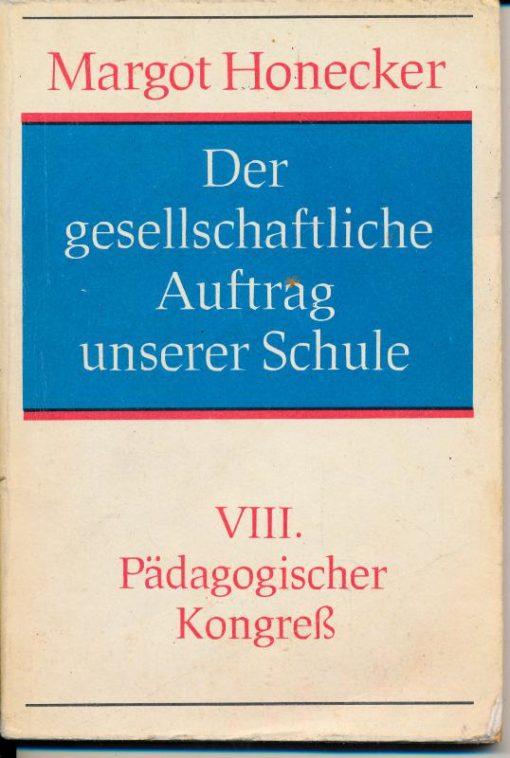 shop.ddrbuch.de Referat auf dem VIII. Pädagogischen Kongress 18. Oktober 1978