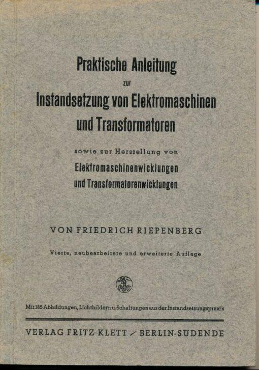 shop.ddrbuch.de zur Herstellung von Elektromaschinenwicklungen und Transformatorwicklungen