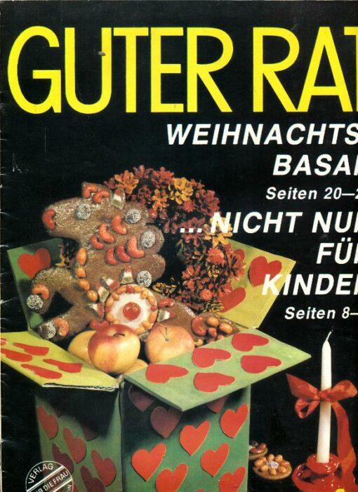 shop.ddrbuch.de Ratgeberzeitschrift aus der DDR – Warenkunde Rundfunkgeräte – Designleuchten – Kontaktgrill – kalte Soßen